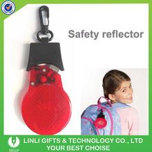 Wholesale Cheap Reflective Promotional Light Keychain, Plastic Key Holder, Keychain Supplier