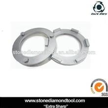 200mm Metal Bond Concrete Floor Grinder Diamond Abrasive Rings with 3 pins in back for Klendex Hercules Floor Grinder