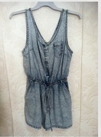 HIJ-14-WD-85-001 sleeveless denim dress