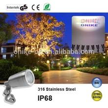 12VAC/DC IP68 stainless steel led landscape light