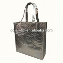TDC Exhibitor,D&B checked and BV verified New fashion reusable fancy shopping laminated bag