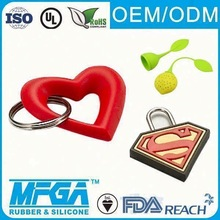 lovely silicone key chain