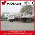 wolwa 10t hidráulicos montados en camiones grúa