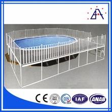6063 T5 Aluminium Profiles Swimming Pool Fencing