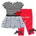listras pretas chiffon nomes de lojas de roupas infantis roupas de fábricas na china