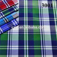 40x40 100pct cotton double layer indigo yarn dyed fashion shirting fabric