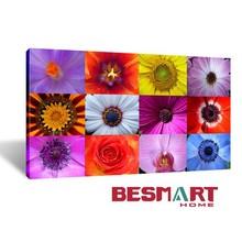 wholesale digital printed photo on canvas fabric - Flowers