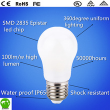 2014hot!! 360 degree led light bulb 8W 800lumen with CE ROHS EPR UL certificate