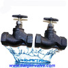 cast steel/cast iron globe valve made in china