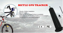 easy hidden bike bicycle gps tracking GPS305 with 2 recharge battery