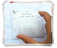 1.56 middle index hard resin eye lens