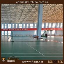 PVC Plastic Badminton Sports Flooring Manufacturers