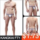 China Wholesale Custom latest design sexy thong g-string for men KZ002-DK