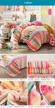 Wholesale Carton blankets bed sheet made in china cheap in bulk flannel fleece blankets