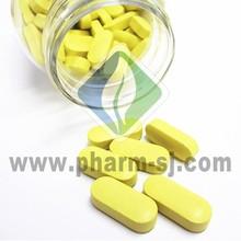 Ganho de peso vitamina& comprimido de cálcio