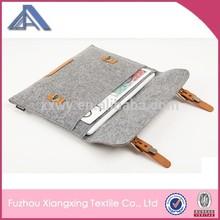 Felt cover bag for ipad air 6,felt material tablet case for ipad air 2