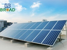 Ground Solar Mounting System For PV Polycrystalline Panel Installation