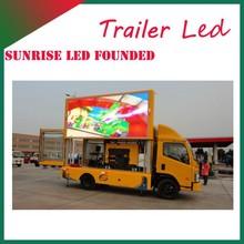Sunrise Advertising van,mobile led truck,mobile billboard truck