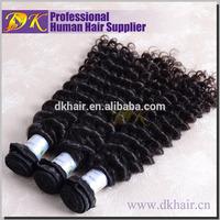 Aliexpress DK Indemnify Black women Indian human hair weft,short length Indian aliexpress human hair piece