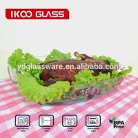 Bakeware/Microwave ovenware/glass oven dish/1.8L Heat Resistant Baking Dish/Pyrex/Borosilicate Bakeware