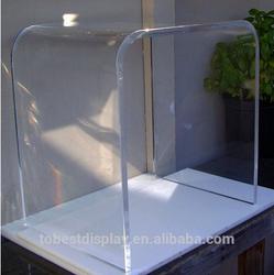 cheap clear High Quality acrylic laptop table, acrylic computer tables