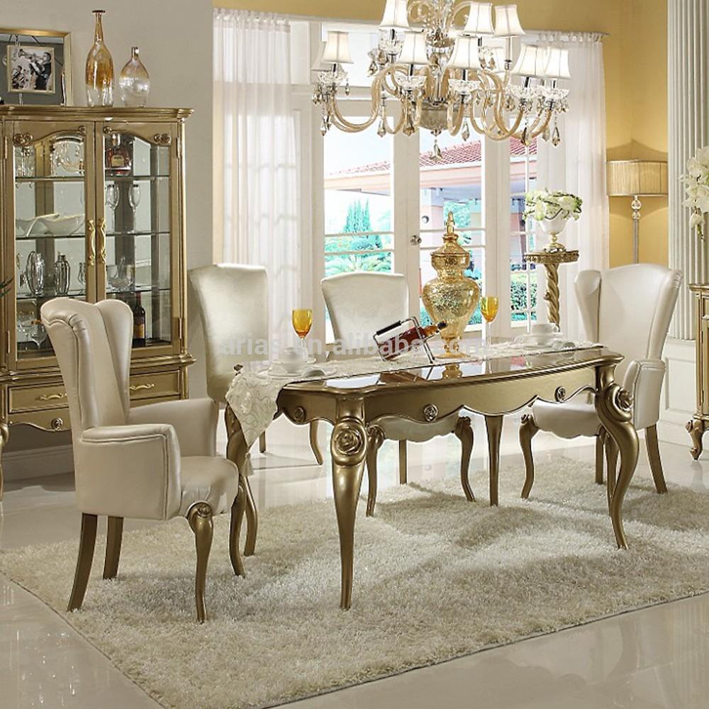 nouveau classique table à manger français Table en bois Id