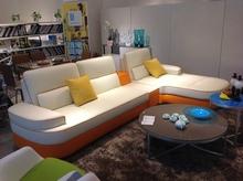 living room sofa modern sofa design leather sofa set J863