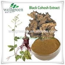 Manufacturer Supply Black Cohosh P.E .BLC-Tritepene2.5%,8% HPLC