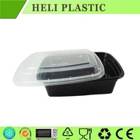 2015 cheap plastic food packaging box bento box container