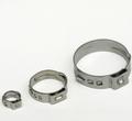 Hersteller verkauf! China lieferant! Sus201stainless stahl Single ohr-schlauchklemme für luft line-kopplung 37.8-41mm