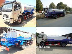 all wheel drive water truck, aluminum alloy water tank truck, water storage tank truck