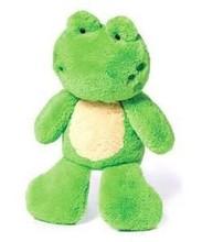 wholesale custom stuffed animal soft toy plush frog for promotion