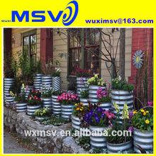 Galvanized Pipe Planters
