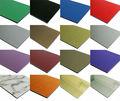Plata 4mm pvdf recubrimiento exterior de panel compuesto de aluminio( acp)