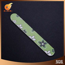 2012 full clorful photos decorative glass nail file