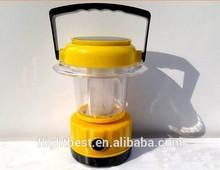 The famous brand popular fashion double panels solar led lantern lamp, Solar led camping lantern ,solar led light to France