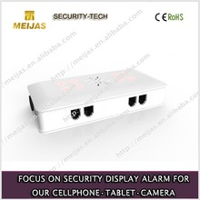 mobile phone and tablet pc 4 ports alarm anti-theft controller