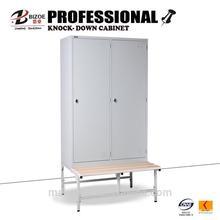 China furniture metal wardrobe/metal wardrobe locker /bedroom metal wardrobe