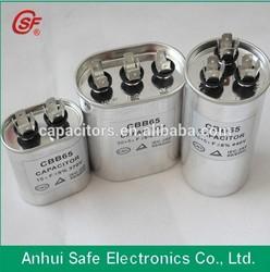 Polypropylene Film Type CBB65, AC Dual Capacitor