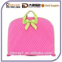 Beautiful Mini Quilted Garment Bag Dance Ballet Bag