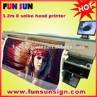 3.2m /10ft Flex banner solvent printing machine (SPT510-35PL,high speed ,light duty )