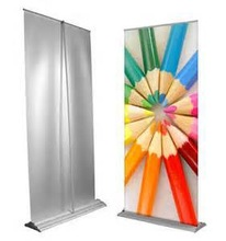 outdoor display pop up a banner/portable display stand/portable stand