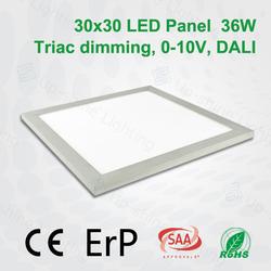 36W New Design Ceiling SMD3528 200-240v 120 degree led panel light 60x60 cm led panel lighting
