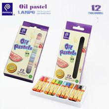 memory 12 colors oil pastel for kids with European EN71-9 standard