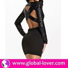 2015 new design ladies dress tailor