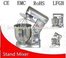 SS commercial dough kneading machine cream mixer