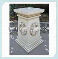 outdoor decorative stone gate pillars