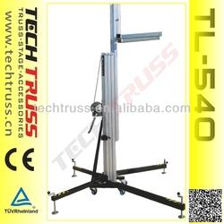 5.4m sound system, line array speaker hangger, system for disco, concert system