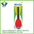 2015 producto nuevo cohete lanzador espacial del cohete de juguete