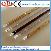 Single tube short wave halogen light 500w